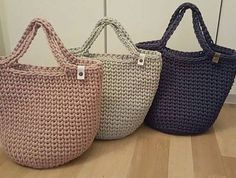 "New Cheap Bags. The location where building and construction meets style, beaded crochet is the act of using beads to decorate crocheted products. ""Crochet"" is derived fro Crotchet Bags, Crochet Tote, Crochet Handbags, Crochet Purses, Knitted Bags, Diy Crochet, Cotton Cord, Crochet Shell Stitch, Tote Bags Handmade"