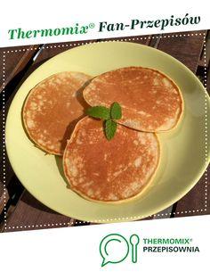 Placki bananowe jest to przepis stworzony przez użytkownika Aria. Ten przepis na Thermomix<sup>®</sup> znajdziesz w kategorii Przepisy dla najmłodszych na www.przepisownia.pl, społeczności Thermomix<sup>®</sup>. Pancakes, Lunch Box, Food And Drink, Cooking, Breakfast, Kitchens, Thermomix, Cucina, Breakfast Cafe