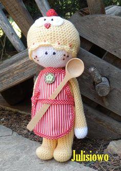 Crochet doll Koko PDF pattern. by JulioToys on Etsy