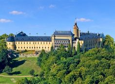 Zbiroh castle (Central Bohemia), Czechia. Originally from 12th century, later rebuilt in renaissance style.