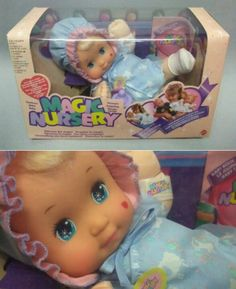 Magic Nursery dolls! These were my kids. Many hours playing...