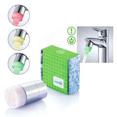Tap traffic light – reklamný predmet, ktorý šetrí vodu. A nielen to. Vďaka vodnej turbíne dokáže farebne svietiť a keď je opotrebovaný, začne blikať.