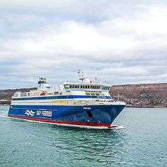 Enjoy a three-hour cruise across the Bay of Fundy between Saint John, New Brunswick and Digby, Nova Scotia with Bay Ferries. Ferry Boat, New Brunswick, France Travel, Nova Scotia, Places Ive Been, Cruise, Instagram Posts, Photos, Beautiful