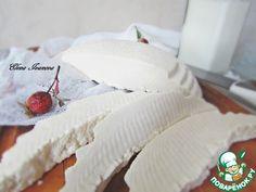 """""""Сыр """"Панир"""""""": Уксус(яблочный) — 3 ст. л. Соль— 2 ст. л. Молоко(3,2%) — 3 л"""