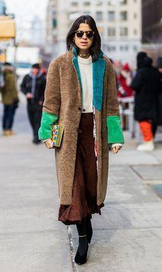 The Saks Potts Coat(s)... - Street Style