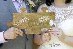 Really cute wedding props - puzzle pieces Wedding Props, Wedding Stuff, Our Wedding, Wedding Ideas, Wedding Chalkboards, Chalkboard Wedding, Puzzle Wedding, Chapel Wedding, Puzzle Pieces