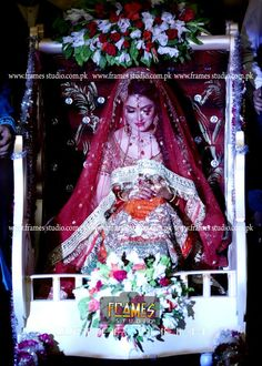 Ayeza khan arrives in palki on baraat Indian Wedding Ceremony, Wedding Bride, Wedding Couples, Wedding Bells, Perfect Bride, Beautiful Bride, Beautiful Couple, Bridal Outfits, Bridal Dresses