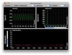 AudioXplorer is a powerful sound analyzer software designed specifically for Mac OS X.