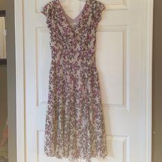 Dress Floral dress, NEVER BEEN WORN! Dress Barn Dresses