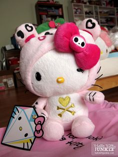 tokidoki x Hello Kitty leopard plush!