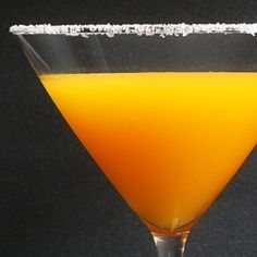 sweet spicy - the habanero passion fruit martini   Wicked Noodle