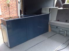 twin slider showing cupboards