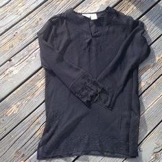 Beautiful sheer top Made in India black sheer blouse like new Sand N sun Tops Blouses - latest ladies blouse, women's blouses with bow ties, blouses and shirts *sponsored https://www.pinterest.com/blouses_blouse/ https://www.pinterest.com/explore/blouse/ https://www.pinterest.com/blouses_blouse/lace-blouse/ http://www.rue21.com/store/girls/tops/blouses-&-shirts/blouses/_/N-a3b