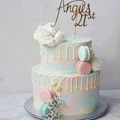 Paddle pop colours for dear Angie, moist chocolate cake layered with salted caramel buttercream within. Our bestselling flavour!…