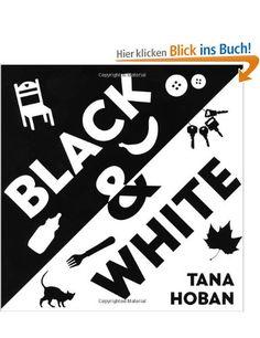 Schwarz und Weiß-Pappbilderbuch zum Aufstellen € 6,00 bei Amazon