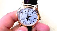 Rose Gold Patek Philippe 5205 Review! - Modern dress watch