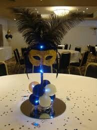 Centerpieces but in diff color