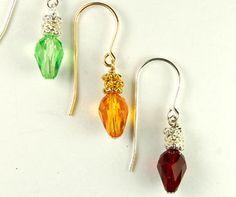 Holiday Light Earrings   Holiday Jewelry Kits