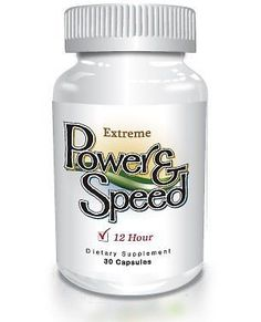 Power N Speed 30 Capsules Natural Energy Pills For Men And Women  897239002215