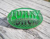 Funky Bitch in green - Collectable lapel or hat pin - Phish inspired - lot merch from Uncle John's Outfitters