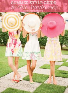 Cutesy-chic summer sundresses (a must-have)
