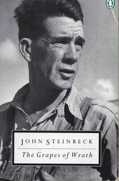 """My pa used to say, 'Anybody can break down. It takes a man not to.""     If you find yourself thinking times are hard, spend some time reading The Grapes of Wrath. The book had a new meaning to me as an adult than when it was read during high school."