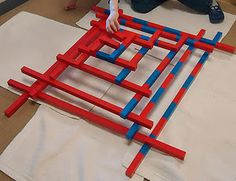 """Red rods and number rods: """"awesome sensorial extension!"""""""
