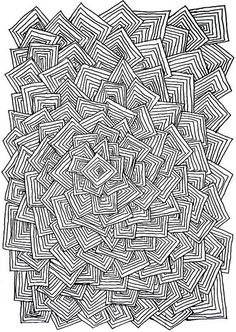 Zentangle #93 - Buildings by hilda_r, via Flickr
