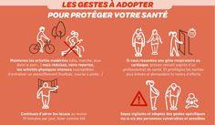 Les bons gestes à adopter pour protéger votre santé lors d'un pic de pollution