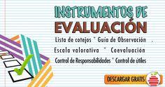 Compendio de de Instrumentos de Evaluación (Word) - Portal de Educación