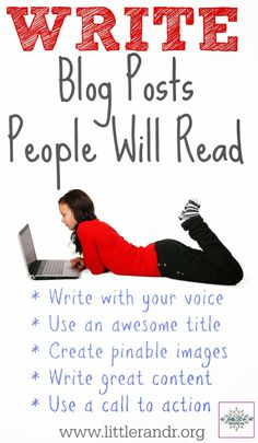 Write Blog Posts People Will Read