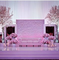 Beautiful wedding stage by @carousel_weddings_events ! #NWdecors #NigerianWedding