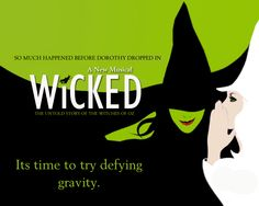Wicked - loved the books also! When I have more free time I will be reading more of Gregory McGuire books :-)