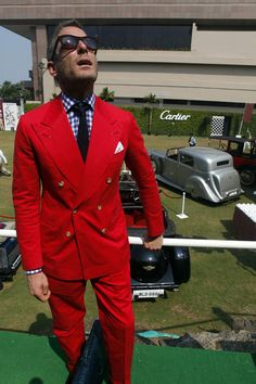 Lapo Elkann - Cartier 'Travel With Style' Concours 2013