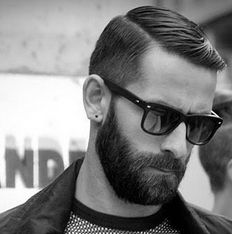 mens beard styles facial hair facial hair and hairstyles… Beard Styles For Men, Hair And Beard Styles, Hair Styles, New Beard Style, Great Beards, Beard No Mustache, Mode Masculine, Men's Grooming, Ray Ban Sunglasses