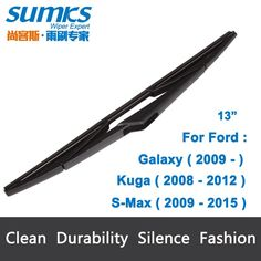 "Cool Ford: Rear Wiper Blade for Ford Kuga ( 2008 - 2012 ) 13""...  salegoods Check more at http://24car.top/2017/2017/04/10/ford-rear-wiper-blade-for-ford-kuga-2008-2012-13quot-salegoods/"