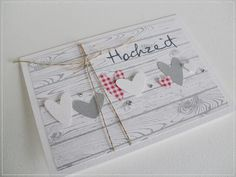Noch mehr ♥-Karten....................