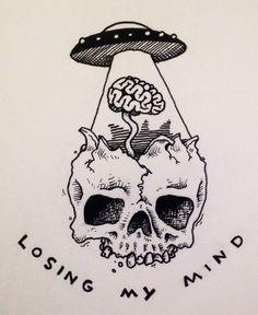 Losing my mind.