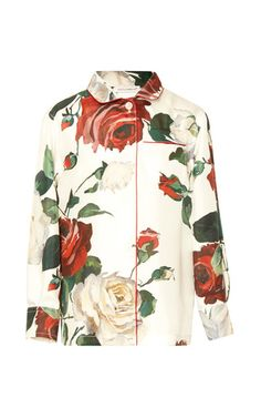 Medium dolce gabbana floral long sleeve floral blouse