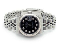 Ladies Steel 18kt Gold Rolex DateJust