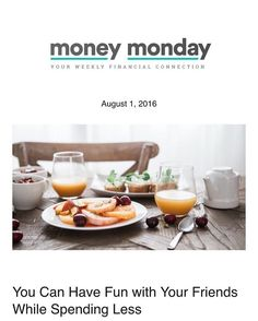 This week's #MoneyMonday is up! Read up for ways to have fun with your friends…