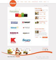 ImusaUSA.com main page