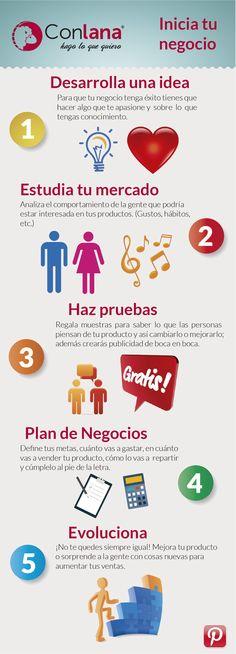 Sigue estos consejos para que inicies un negocio desde cero. #Negocios #Empresas #Emprendimiento #Consejos #Tips #Dinero #Conlana