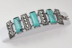 Chunky Faux Turquois