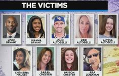 It's been revealed there were a total of 9 victims on Kobe's helicopter including him instead of 5 to include his. Chester, Vanessa Bryant, Kobe Bryant Daughters, Kobe Bryant Family, Kobe Bryant Black Mamba, Love Life Quotes, People Talk, Boston Celtics, Hug You