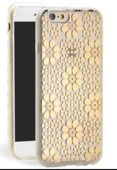 A flowery Kate spade iPhone case