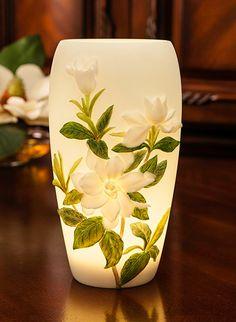 Magnolia Branch Accent Lamp