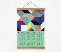 Calendar 2015  wallcalendar 2015 abstract pattern by DURIDO