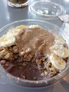Almond Butter Acai Bowl