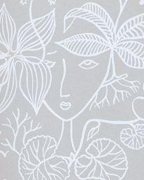 Tapet Grazia 01 från Boråstapeter Stig Lindberg, Scandinavian Design, Home Projects, Designers, Tapestry, Display, Interior Design, Wall Ideas, Home Decor